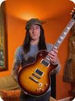 Gibson 59 Reissue Les Paul Stand Ex GUNS N ROSES 2000 Sunburst