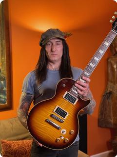 Gibson 59 Reissue Les Paul Stand Ex Guns 'n' Roses 2000 Sunburst