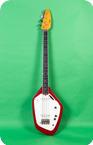 Vox Phantom IV Bass 1966 Red