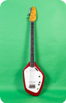 Vox Phantom IV Bass 1966 Red