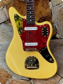 Fender Jaguar '62 Reissue Ltd. Edition 1994 See Thru Blonde Finish