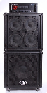 Ampeg Svt 2 Pro W/ Pr 410h, Pr 15h Cabinets 1998 Black