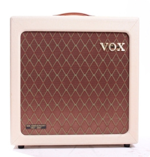 Vox V112htv 1x12 Cabinet 50th Anniversary 2007 Fawn