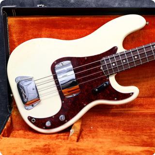 Fender Precision 1966 Olympic White