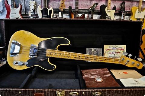 Nacho Banos Pre '54 Blackguard Bass 2018