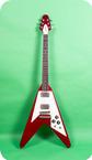 Gibson-Flying V-1982-Red