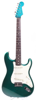 Fender Stratocaster '62 Reissue Matching Headstock Photoflame 1994 Lake Placid Blue