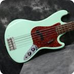 Fender Bass V 1966 Surf Green Refinish