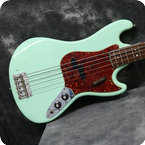 Fender Bass V 1966 Surf Green Refinish