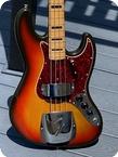 Fender Jazz Bass 1973 Sunburst Finish