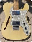 Fender-Telecaster Thinline-1972-See-Thru Blonde