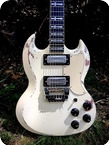 Jaydee Custom Guitars Old Boy Tony Iommi Signature Model 2020 White