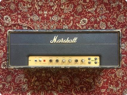 Marshall Jmp Plexi 50 Head 1968 Black