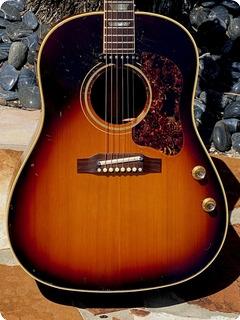 Gibson J 160e 1967 Sunburst Finish