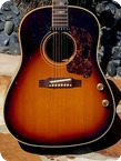 Gibson J 160E 1967 Sunburst Finish