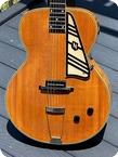 National Guitars New Yorker Spanish Electric 1939 Blonde Finish