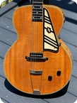 National Guitars New Yorker Spanish Electric 1939 Blonde Finish