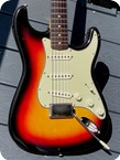 Fender Stratocaster 1964 Sunburst Finish