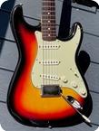 Fender-Stratocaster -1964-Sunburst Finish