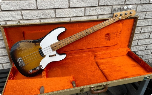Fender Precision Bass 1955 2 Tone Sunburst