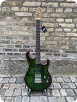 Ernie Ball Music Man LIII Maple Top HSS 2021 Luscious Green Flame