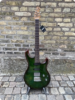 Ernie Ball Music Man Liii Maple Top Hss 2021 Luscious Green Flame