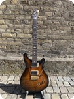 Paul Reed Smith Custom 24 10 top Flame 2020 Custom Color Amber Wrap Smokeburst
