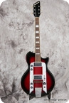 Airline Town And Country 1962 Red Burst