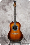 Ovation Mod. 1619 Custom Legend Electric 1981 Sunburst