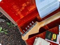 Fender Stratocaster With Original Tags Etc 1962 Sunburst