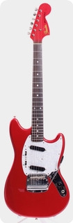 Fender Mustang '69 Reissue Matching Headstock 2012 Candy Apple Red