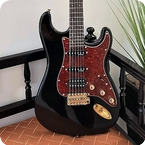Ares Custom Guitars DC X line Black Gloss HSS 2020 Black