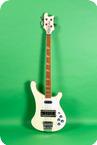 Rickenbacker-4001 Bass -1978-White