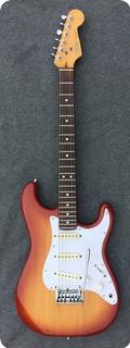 Fender Stratocaster Dan Smith 1984 Sienna Suburst