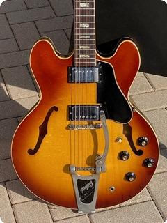 Gibson Es 335td 1970 Red/brown Sunburst Finish