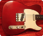 Real Guitars Custom Build T Roadwarrior 2021 Candy Apple Red