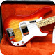 Fender Precision 1981 Cherry Sunburst