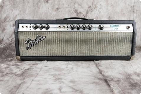 Fender Bassman 100 1969 Black Tolex