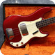 Fender -  Precision 1965 Candy Apple Red