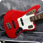 Fender-Jaguar Bass-2007-Hot Rod Red