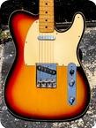 Fender Telecaster Custom 1971 Sunburst Finish