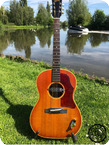 Gibson B25 With DeArmond Pick up And Cable 1964 Cherry Sunburst