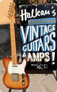 Fender Telecaster 1981 Sienna Burst