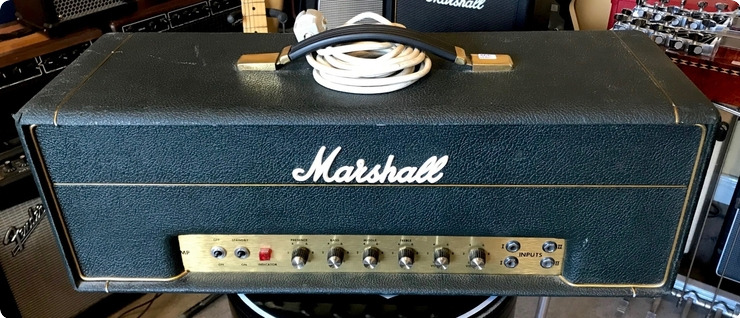 Marshall 50 Watts / Small Box 1970 Black