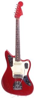 Fender Jaguar Dots & Binding '65 Specs 1966 Candy Apple Red