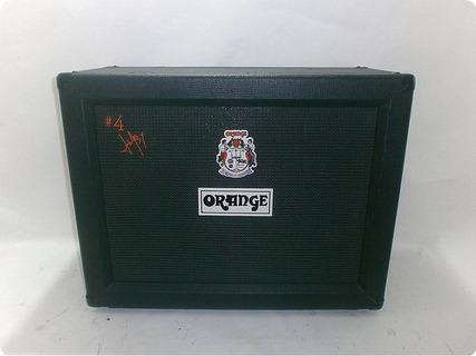 Orange Ppc212jr Jim Root Signature #4 2x12