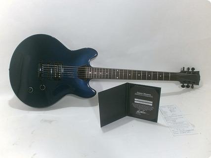 Gibson Memphis Es 339 Studio (single Pickup) 2013 Midnight Blue