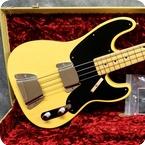 Fender-Vintage Custom 1951 Precision Bass NOS,-2018-Nocaster Blonde
