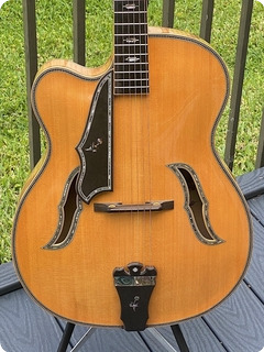 Boz0 Arch Top Left Handed 2000 Blonde Finish