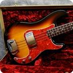 Fender 62 Precision Made In Japan 1994 Sunburst